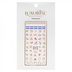 Folie Sticker 3D unghii LUXORISE- SP097