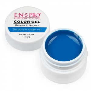Gel UV Color ENS PRO Albastru #003 - Mistique Blue