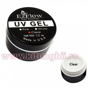 Gel UV EzFlow 15 gr Clear - Transparent