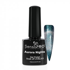 Oja Semipermanenta Aurora Nights SensoPRO 10ml - 01 Night Spirit