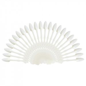 Paletar Unghii Crown 24 pozitii pentru exersare si expunere, alb, inel