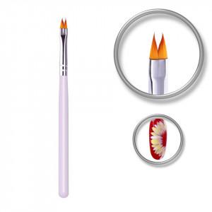 Pensula unghii Luxury Nail pentru decoruri, design floral, linii fine, pictura 3D
