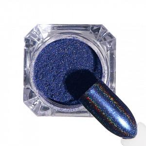 Pigment unghii Holografic #63 cu aplicator - LUXORISE