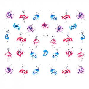 Sticker 3D Unghii LUXORISEArtistry L106