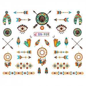 Tatuaj unghii LUXORISE, Dream Catcher BN-909