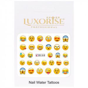 Tatuaj unghii LUXORISE, Emotions BN-844