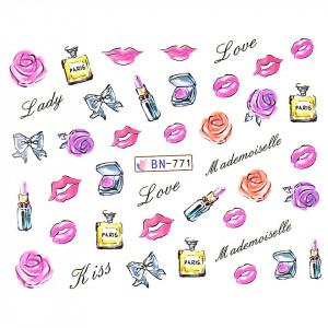 Tatuaj unghii LUXORISE, Love BN-771