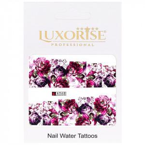 Tatuaj unghii LUXORISE, Nature A068