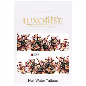 Tatuaj unghii LUXORISE, Nature A080