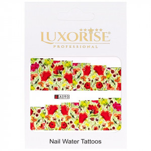 Tatuaj unghii LUXORISE, Nature A090