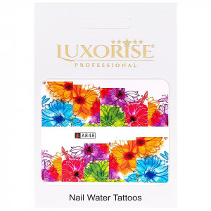 Tatuaj unghii LUXORISE, Nature A848