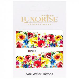 Tatuaj unghii LUXORISE, Nature A853
