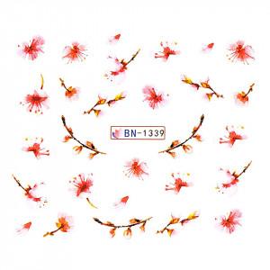 Tatuaj unghii LUXORISE, Nature BN-1339
