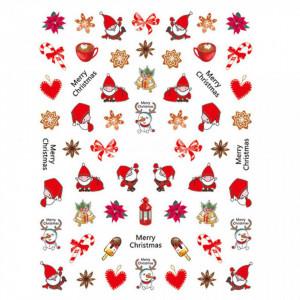 Abtibild unghii SD-010 Jingle Bells