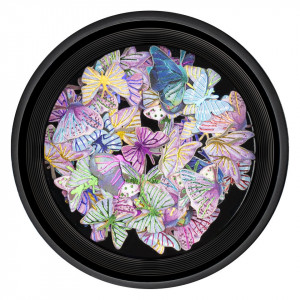 Decoratiuni Unghii Nail Art LUXORISE, Butterfly Obsession