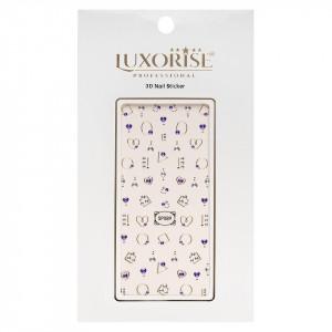 Folie Sticker 3D unghii LUXORISE- SP089