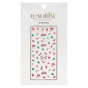 Folie Sticker 3D unghii LUXORISE- SP206