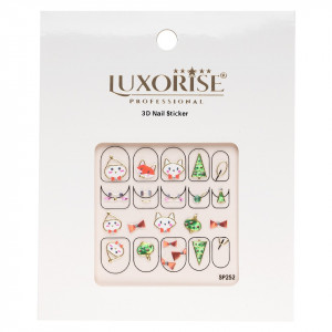 Folie Sticker 3D unghii LUXORISE- SP252