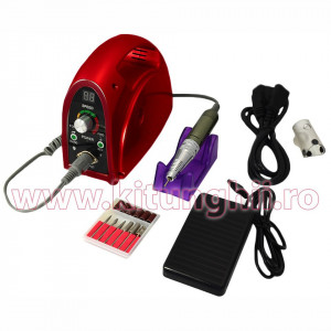Freza Unghii Profesionala - Pila Electrica Unghii False ~30.000 RPM - Red Seduction