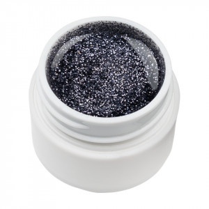 Gel UV Color cu Sclipici ENS PRO #035 - Charming Darkness