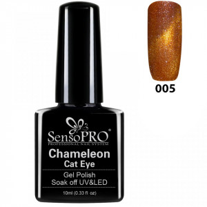 Oja Semipermanenta Cameleon Cat Eye SensoPro 10ml - #005 RoyalFlash