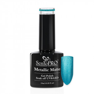 Oja Semipermanenta Metallic Matte SensoPRO 10ml, Vacation #003