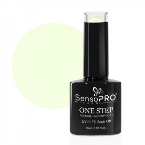 Oja Semipermanenta SensoPRO Milano One Step 10ml, Lime Cream #065