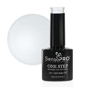 Oja Semipermanenta SensoPRO Milano One Step 10ml, Milky White #076