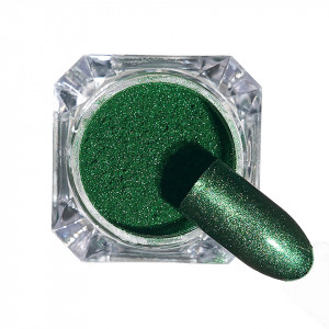 Pigment unghii Chrome #125 cu aplicator - LUXORISE