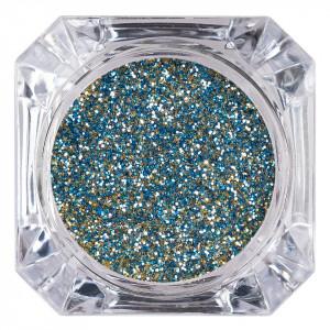 Sclipici Glitter Unghii Pulbere LUXORISE, Blue Glow #53