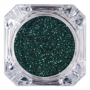 Sclipici Glitter Unghii Pulbere LUXORISE, Deep Green #07