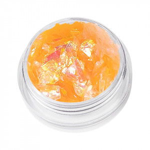 Sclipici Unghii Wonderland - Orange Sorbet, 5g
