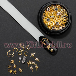 Set decoratiuni unghii 3D Corona Constellation