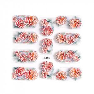 Sticker 3D Unghii LUXORISE Artistry L103