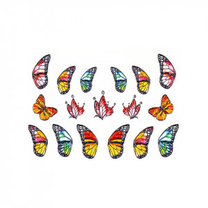 Tatuaj 3D Unghii LUXORISE 1007-71