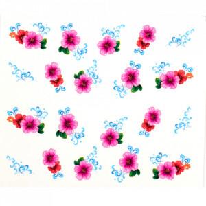 Tatuaj unghii A015 flori