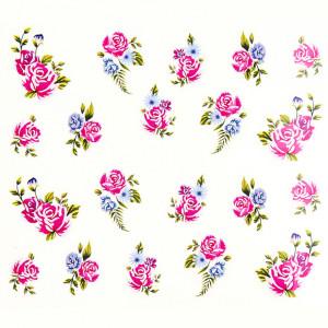 Tatuaj unghii A025 flori