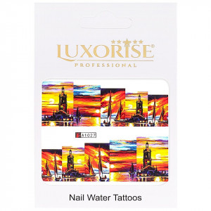 Tatuaj unghii LUXORISE, City A1027