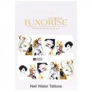 Tatuaj unghii LUXORISE, Fashion A894