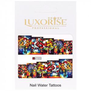 Tatuaj unghii LUXORISE, Nature A1032