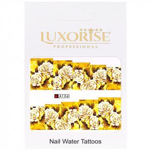 Tatuaj unghii LUXORISE, Nature A104