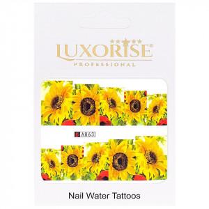 Tatuaj unghii LUXORISE, Nature A863