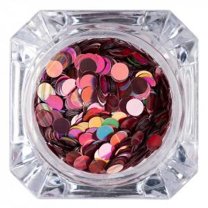 Confetti Unghii LUXORISE Colorful Spots #012