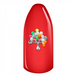 Decoratiune Unghii 3D - Copac cu fructe multicolor