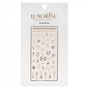 Folie Sticker 3D unghii LUXORISE- SP104