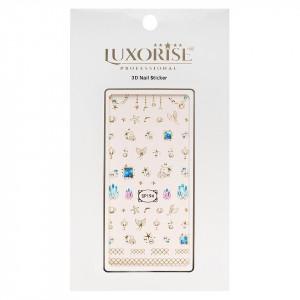 Folie Sticker 3D unghii LUXORISE- SP194