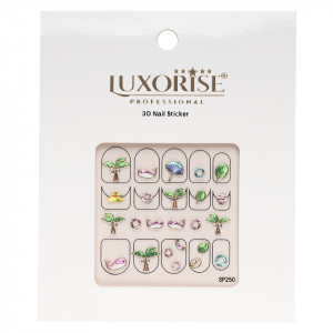 Folie Sticker 3D unghii LUXORISE- SP250