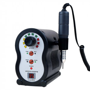 Freza Unghii Profesionala XPERT Ultra - LUXORISE Germania, 35.000 RPM, Black