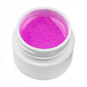 Gel UV Color cu Sclipici ENS PRO #009 - Pink Galaxy