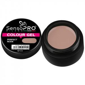 Gel UV Colorat Perfect Nude 5ml, SensoPRO Milano